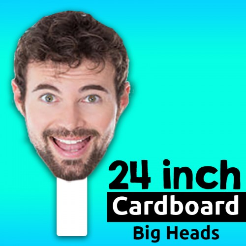 "24"" Custom Cardboard Big Head"