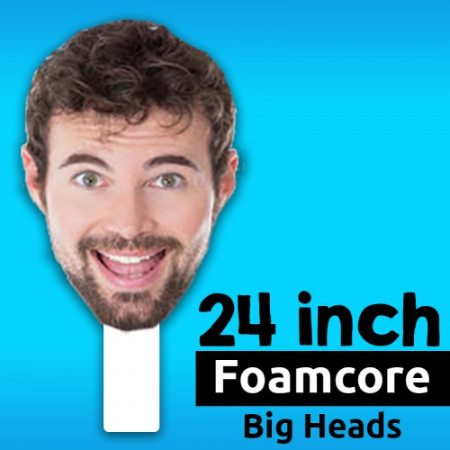 "24"" Custom Foamcore Big Head"
